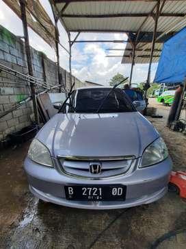 Honda Civic Century 1.7 Vti th 2004 Silver Mulus Lengkap Siap Gas