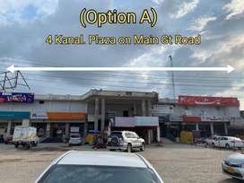 offices and halls in plaza for rent, main gt road, islamabad highway,