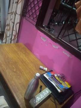 Wooden study and multipurpose table