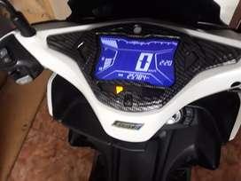 Dijual Yamaha Aerox type S (keyless) tahun 2018