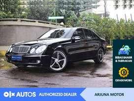 [OLXAutos] Mercedes Benz 2004 E260 2.6 A/T Bensin Hitam #Arjuna Motor