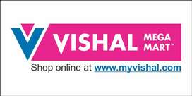 There are various profiles for Vishal mega Mart ( apply now)