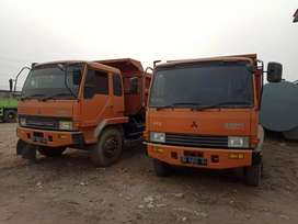 dump truk mitsubishi fuso ps220 2015 6ban kondisi istimewa km rendah