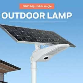 Pre Order: PJU Solar Cell Street light 50w