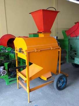 Mesin pipil jagung roda