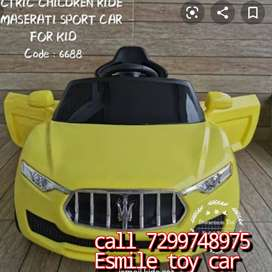 KIDS RIDE ON BATTERY CAR WITH REMOTE CONTROL