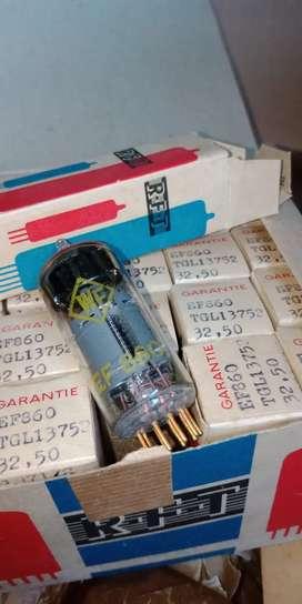Tube Pre-Amplifier Pentode EF860 Goldpin NOS