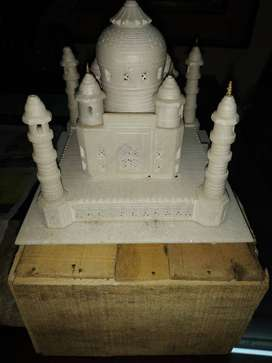 Taj Mahal Show piece, real sangmarmar marble bought from agra
