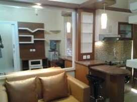 Sewa TRANSIT HARIAN Apartemen Kalibata City 2 Kamar Tidur