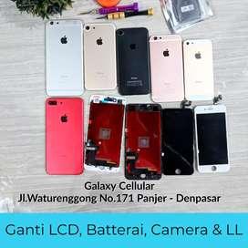 Ganti LCD iPhone Batre iPhone 4 5 5s 6 6s 7 7+ 8 8+ x  Bisa di tunggu