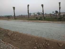 3 Marla residential plot on easy installments in Tulip Garden