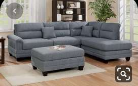 China design L shape sofa with 5 years of warranty
