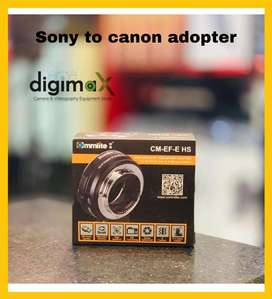 Commlite Adopter sony to canon