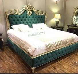 Fantastic bed with side table