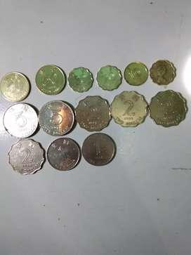 Dijual koin kuno Hongkong