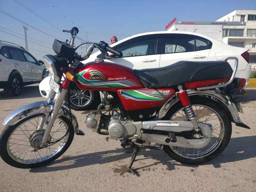 Crown 70cc 2017 - Almost New 0