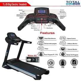Alat Fitness Treadmill Elektrik Auto Incline TL 29 AC Mojokerto