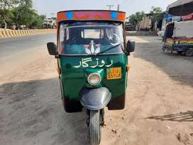 Rozgar Riksha model 2010 Self Start, New Battery, woofer speakers