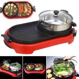 Elektrik hot pot dan grill