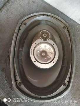Sony Speakers Oval Shaped 6*9  550watt
