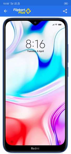 redmi8 moblie phone pack new phone