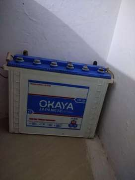 Selling.Okay Battery with Inverter.