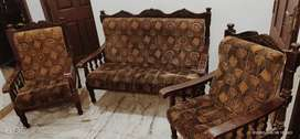 Wood sofaset for sale