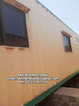 20ft & 40ft container office prefab home shops cabins porta cabin..