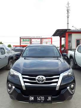 Fortuner 2017 VRZ double disc solar matic. Km 28rb