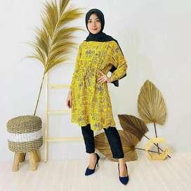 Tunik Rayon motif