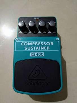 Brand new Behringer compressor sustainer pedal