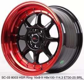 Velg racing mobil sc ring 16 celong bisa cash/credit
