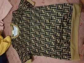 Baju sehari hari brown