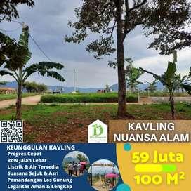 Jual tanah kavling di Bogor, pemandangan alam indah