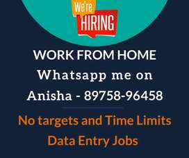 100% weekly payment data entry jobs for All. Earn weekly 7000/-