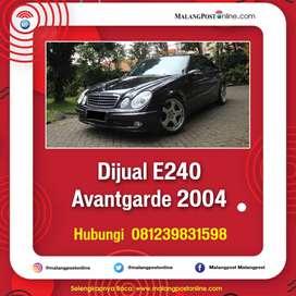 Dijual E240 Avantgarde 2004