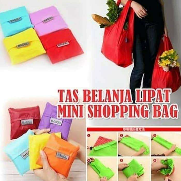 BAGGU / BAGCU Shopping Bag / TAS / Kantong Belanja Jinjing Lipat Modis 0