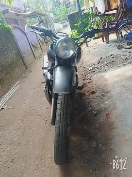 Modified Bike good condition pappers are clear