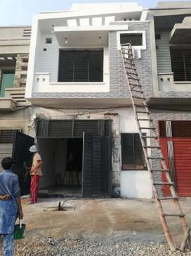Double story fully furnished 3 marla house for sale