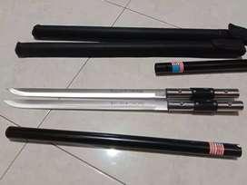 alat pertahanan diri pentungan pedang