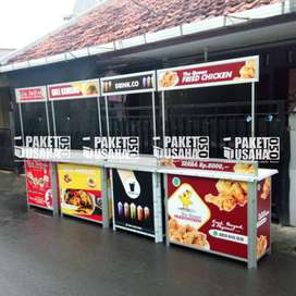 Booth Portable # Meja Lipet # jual Makanan&Minuman: ice lemon oke