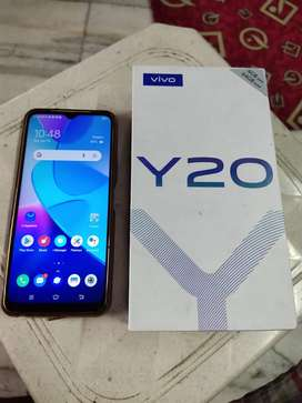 VIVO Y 20 WITH FULL KIT AVAILABLE 4GB 64 UNDER WARANTY