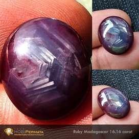 Natural Ruby Star 16.16 carat