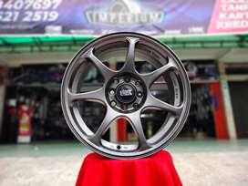 Jual Velg R15 Mobil Brio Yaris Calya Sigra Rio - HSR SEBUSUNTA Ring 15