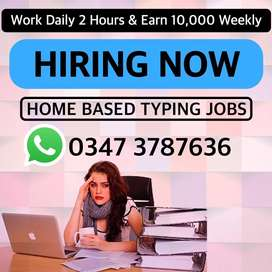 Last Few Slots Left   We are Hiring Home based Typists   Part Time