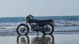 Yamaha Rx100 Front Disc Brake