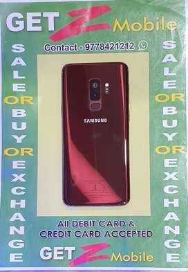 Samsung Galaxy S9 Plus Burgundy 64 Gb