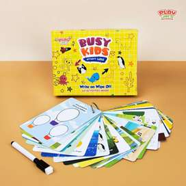 BEST SELLER!! BUSY KIDS ACTIVITY CARDS PLAYLABS
