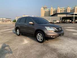 Honda CRV 2.4 AT 2010 Facelift Terawat Pajak Panjang Service Record