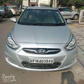 Hyundai Verna Fluidic 1.6 CRDi EX, 2014, Diesel
